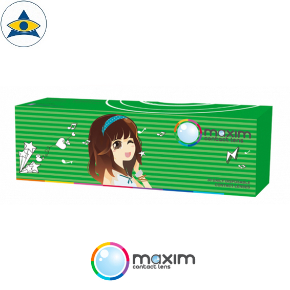 maxim green box daily cosmetic colour contact lenses tampines admiralty optical