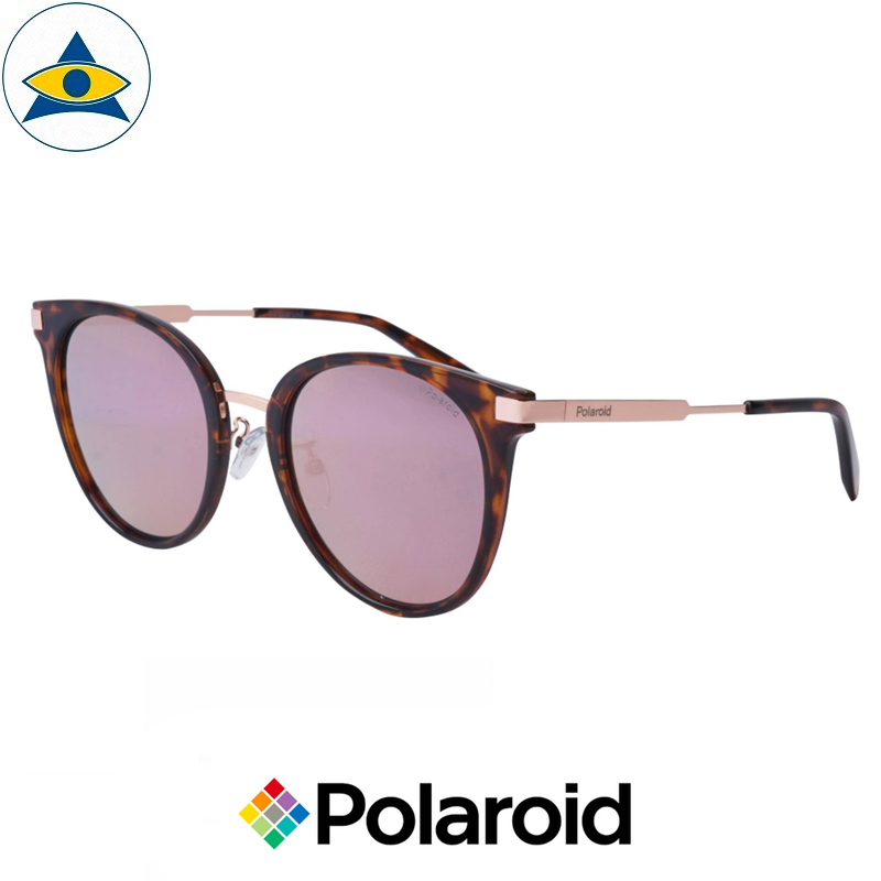 Polaroid sunglass 6061FS 0860J Turtle Shell w Pink Flash s5422 $128 tampines optical admiralty optical 2
