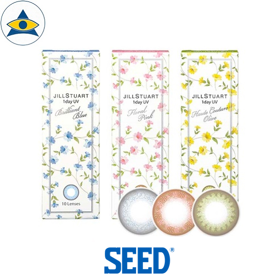 Seed Jill Stuart daily cosmetic colour contact lenses tampines admiralty optical