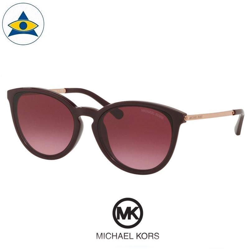 Michael kors sunglass 2080F Chamonix 33448h purple gold with purple gradient s5321 $248 2