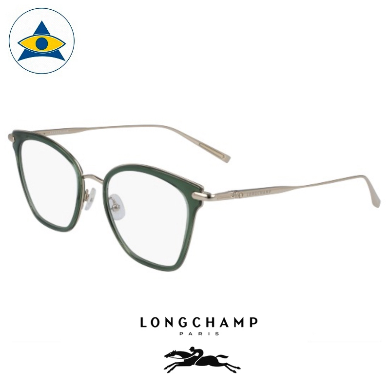Long Champ 2635 C305 Sage Gold S5219 $258 1 eyewear optical spectacle glasses tampines admiralty optical