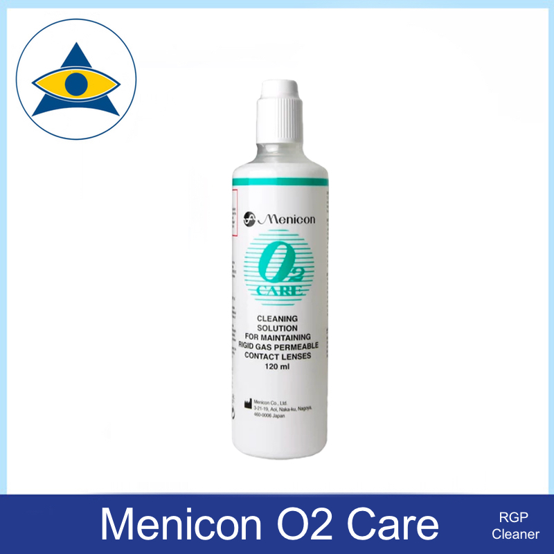Menicon O2 Care RGP Cleaner solution Tampines Admiralty Optical