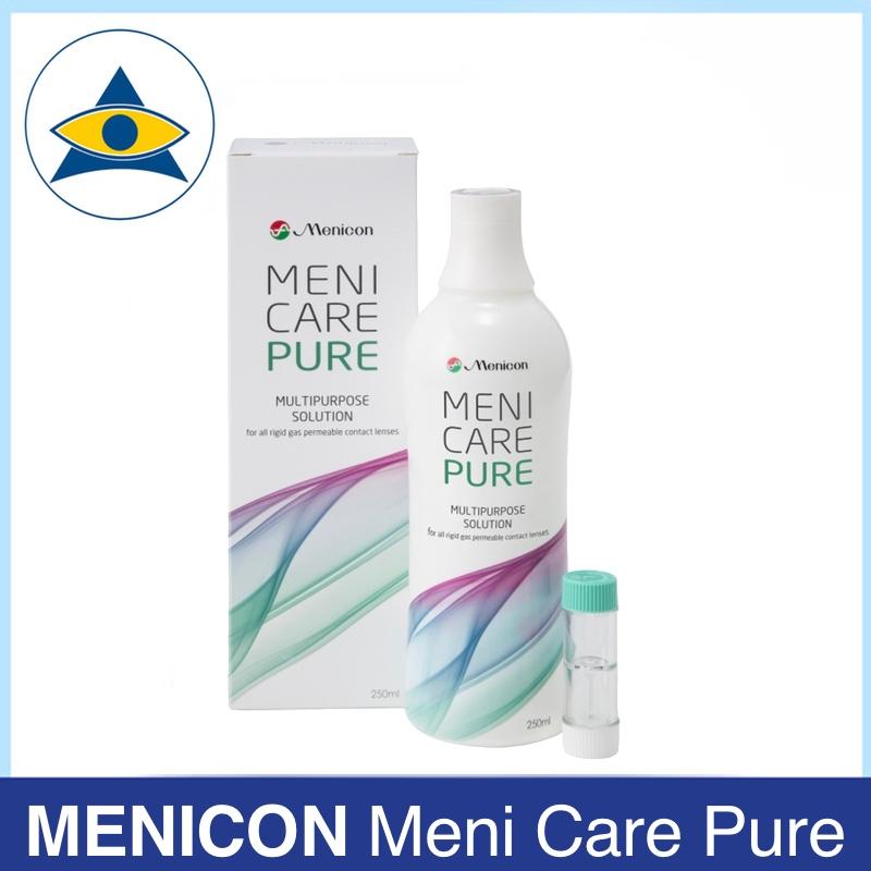Menicon Meni care pure RGP multipurpose solution Tampines Admiralty Optical