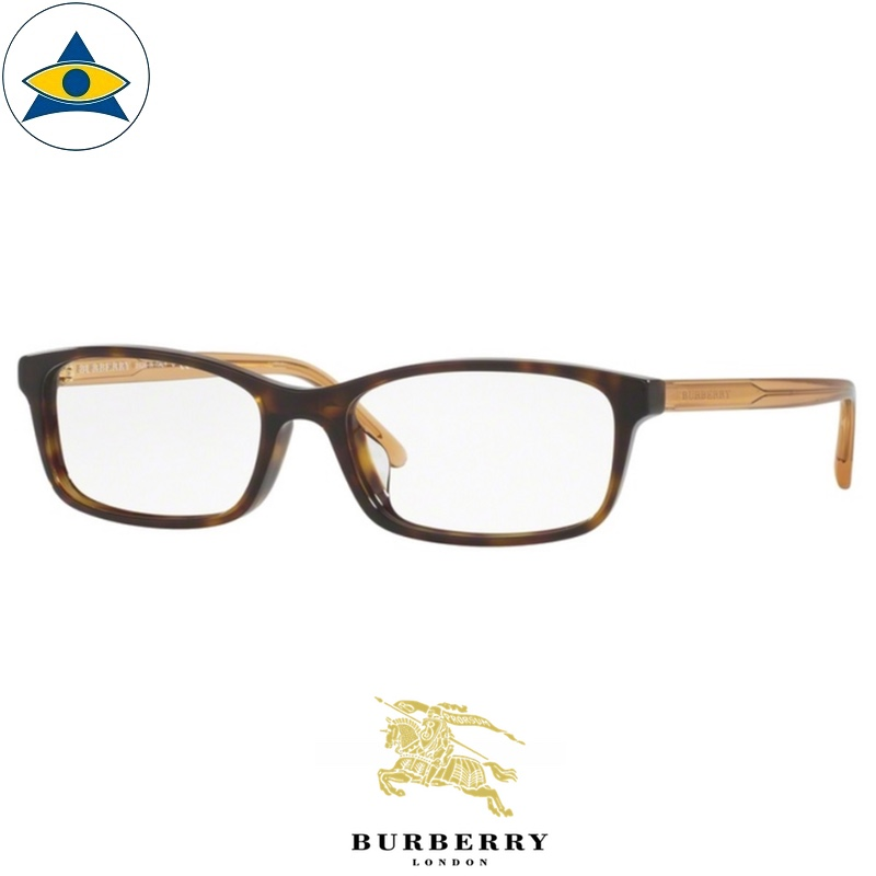 Burberry B 2234D 3002 Havana-Peach s5517 $268 2 eyewear frame tampines optical admiralty optical