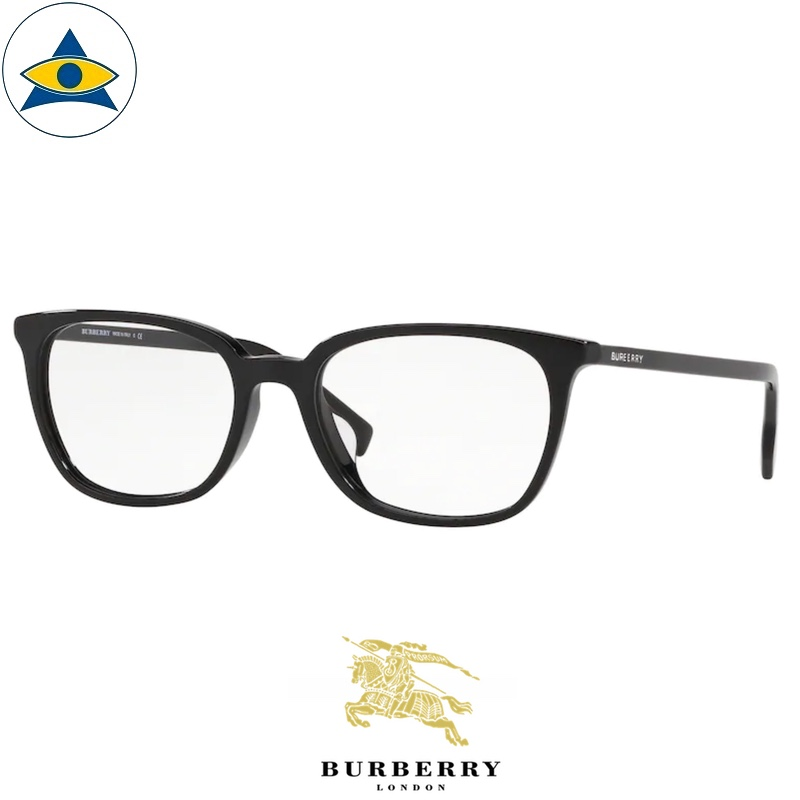 Burberry B 2296D 3001 Black s5418 $268 2 eyewear frame tampines optical admiralty optical