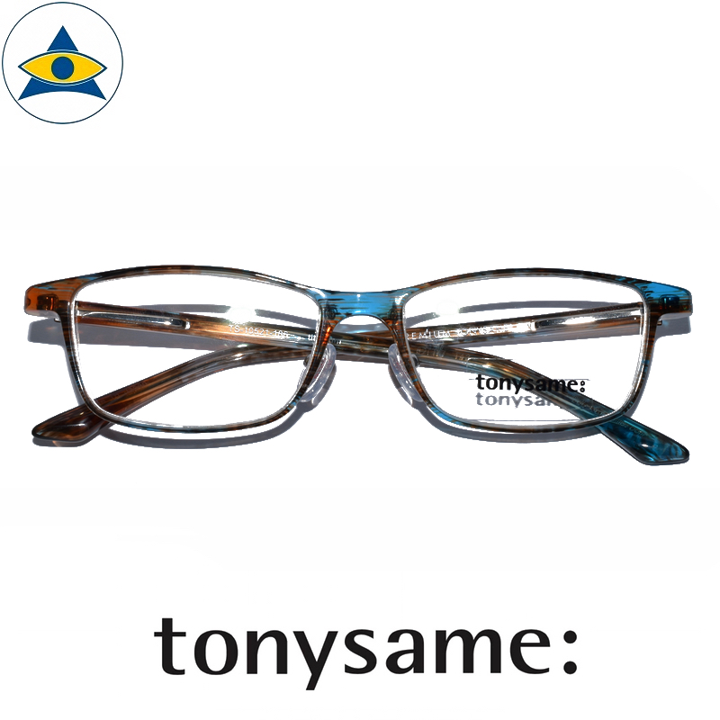 Tonysame eyewear TS 10521 186 Turquoise Havana s5 $488 1 tampines optical admiralty optical