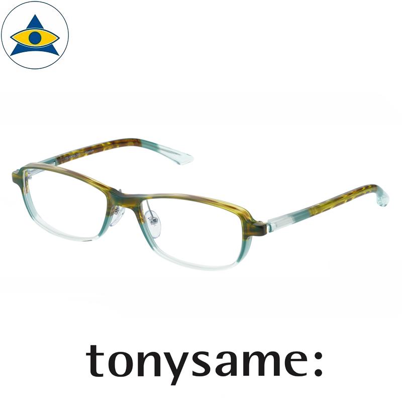 Tonysame eyewear TS 10534 Yellow Sasa Green s5 $488 1 tampines optical admiralty optical