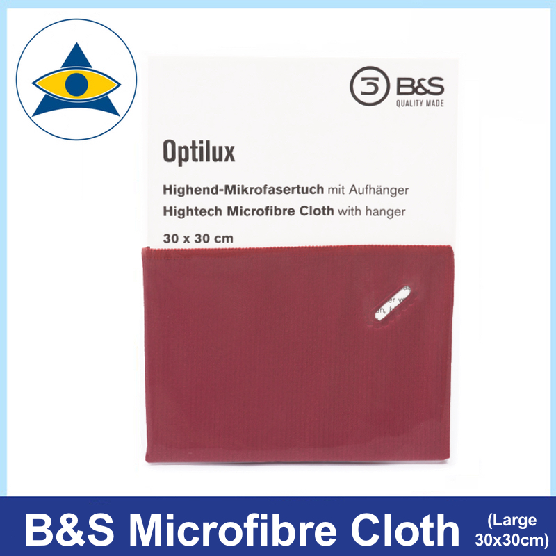 breitfeld & schliekert optilux microfibre cloth 30cm by 30cm frames spectacles sunglasses cleaning 15 Tampines Optical Admiralty Optical 1
