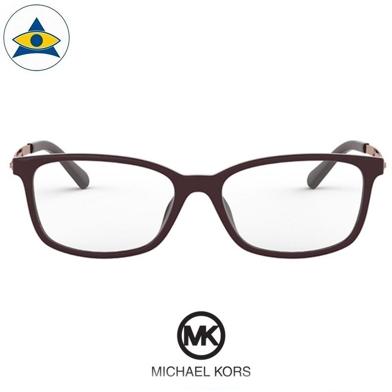 Michael kors eyewear 4060U Telluride 3344 Deep Purple-Rose Gold s5415 $248 2