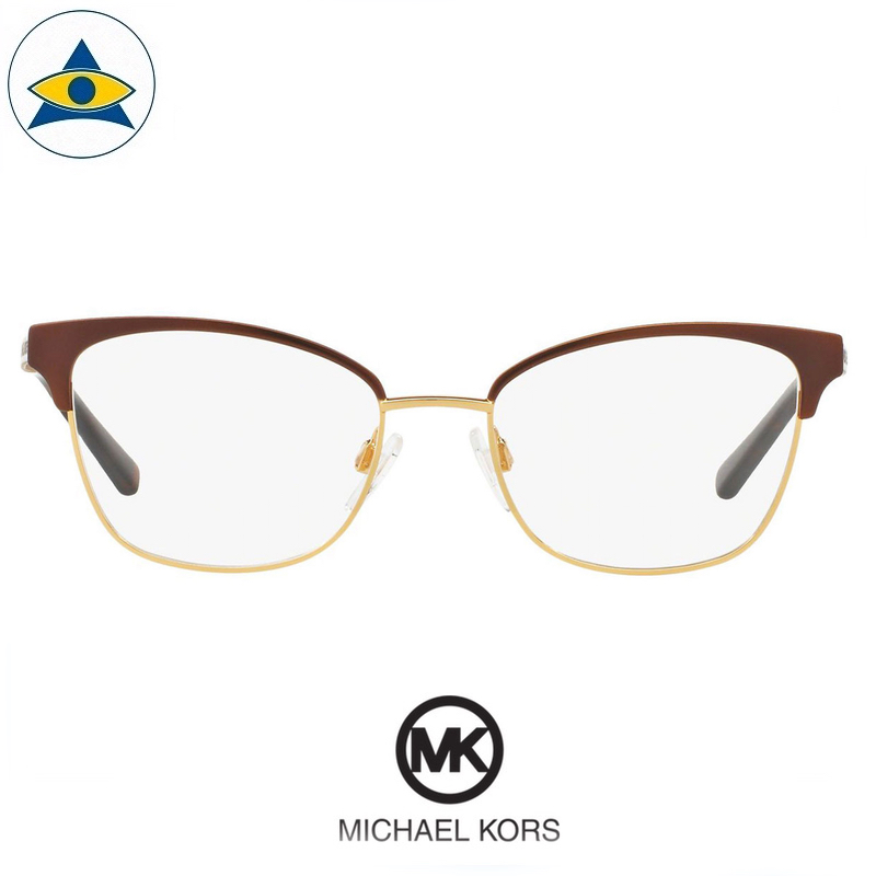 Michael kors eyewear MK 3012 Adrianna IV 1114 Brown-Gold s5117 $248 2