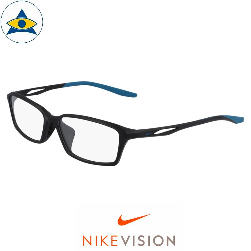 Nike 7261 004 Matte Black:Blue s5615 $178 Tampines Optical Admiralty Optical 1