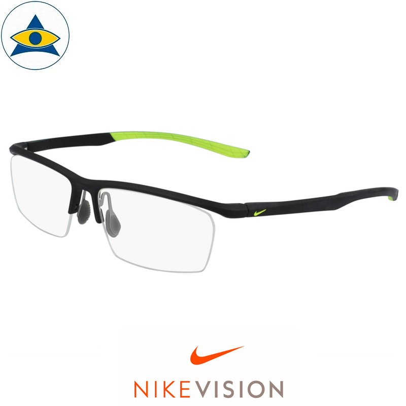 Nike 7929 002 Matte Black:Lime s56-15 $178 Tampines Optical Admiralty Optical 2