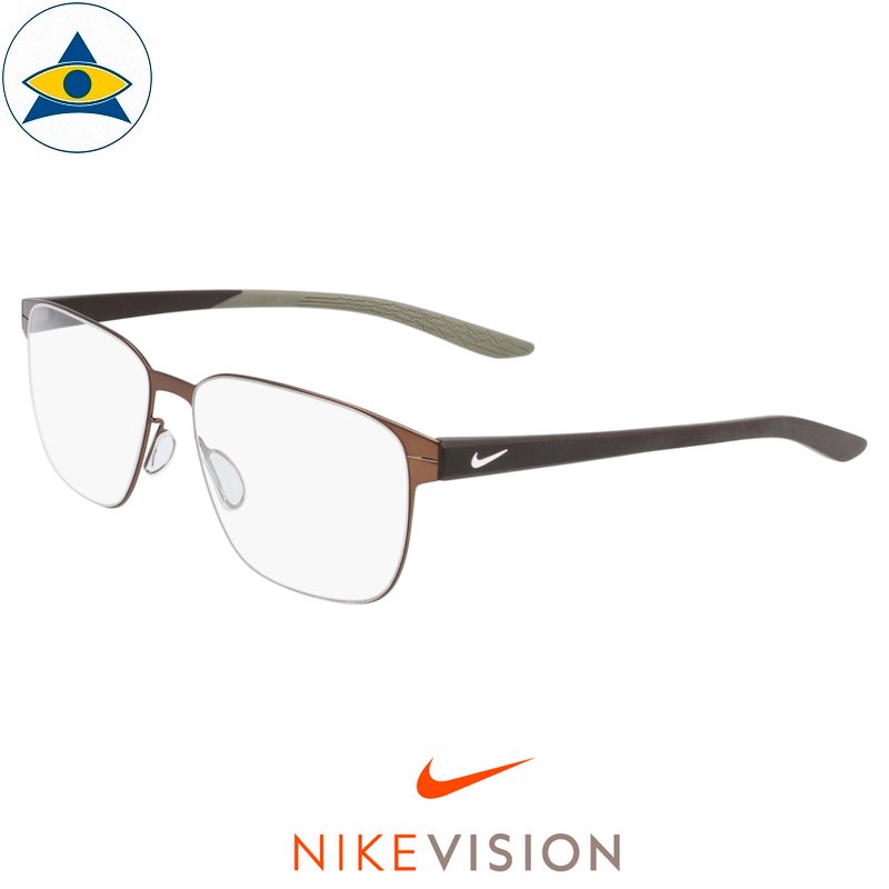 Nike 8133 216 Walnut-Baroque Brown s57-15 $168 Tampines Optical Admiralty Optical 1