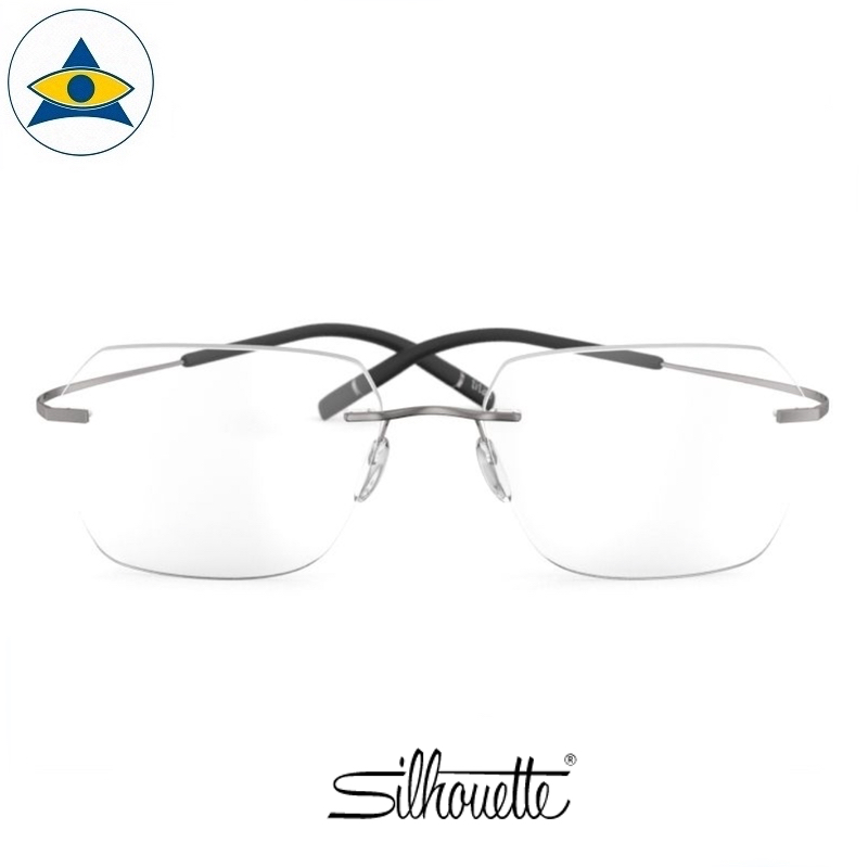 Silhouette eyewear 5541 TMA Icon Rimless 6265 Ruthenium s5417 $468 1