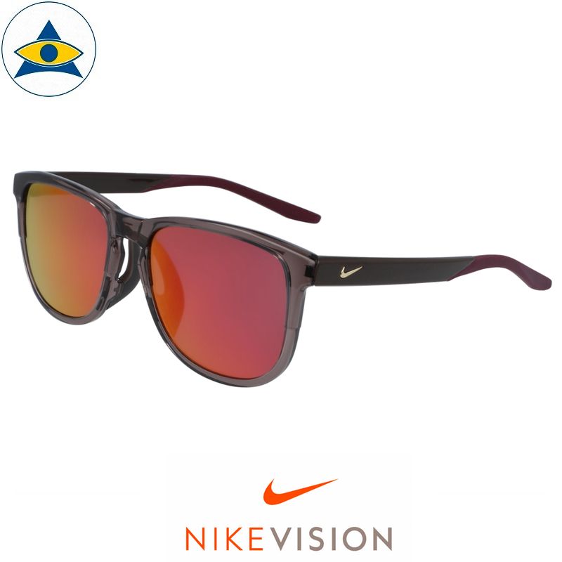 Nike Sunglass CW 4724 Scope M AF 589 Violet Ore-Grey w Purple Mirror s58-18 198 Tampines Optical Admiralty Optical 1
