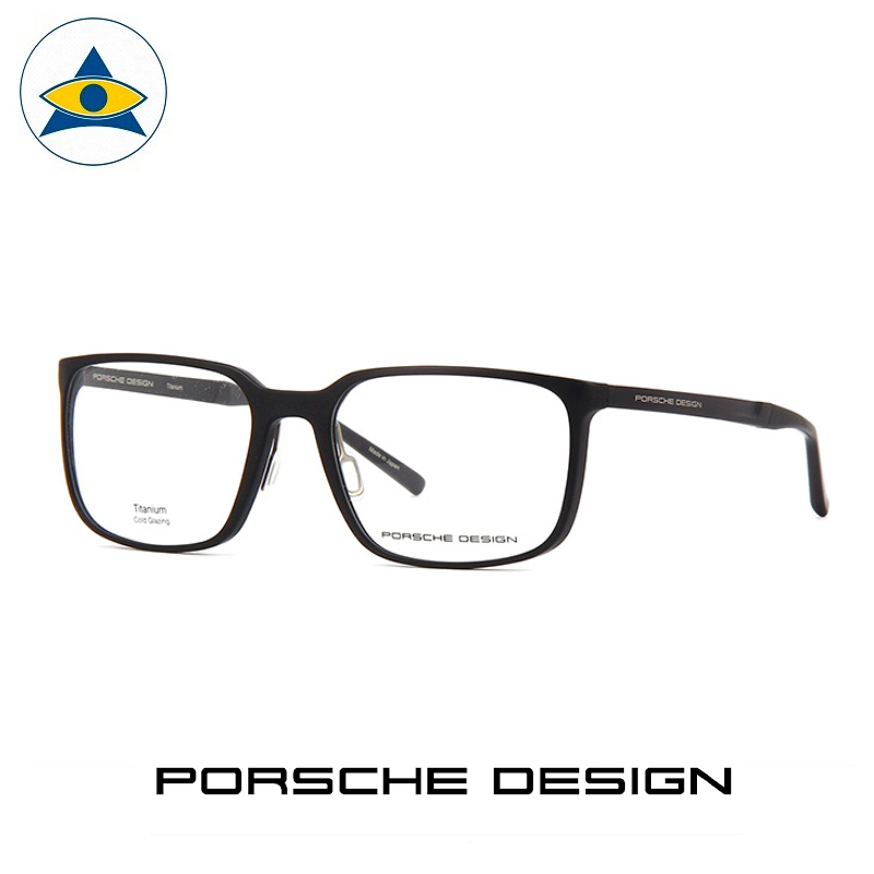 Porsche P 8338 A Black s5518 $598 1 eyewear frame tampines admiralty optical