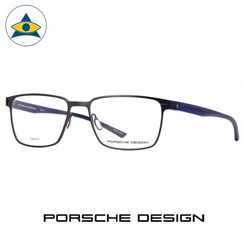 Porsche P 8354 C Grey-Blue s5417 $608 1 eyewear frame tampines admiralty optical