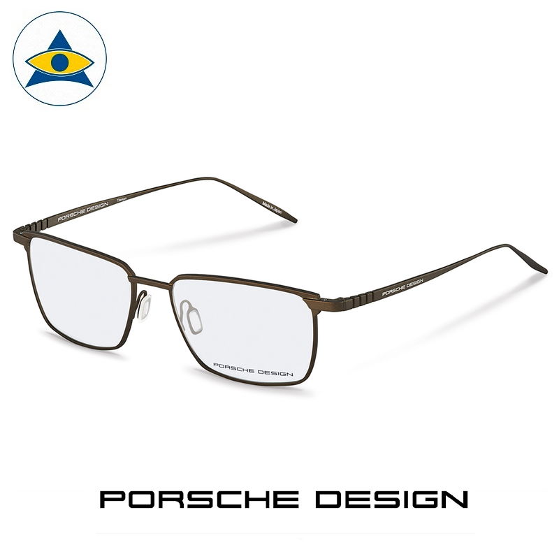 Porsche P 8360 D Brown s5717 $698 1 eyewear frame tampines admiralty optical
