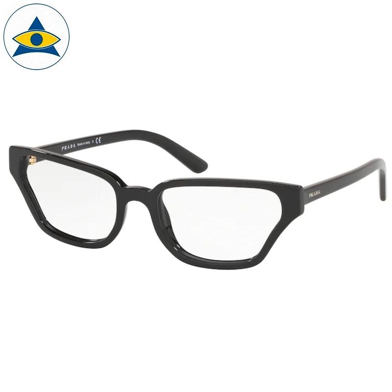Prada Eyewear VPR 04XVF 1AB Black s5416 398 Tampines Optical Admiralty Optical 1