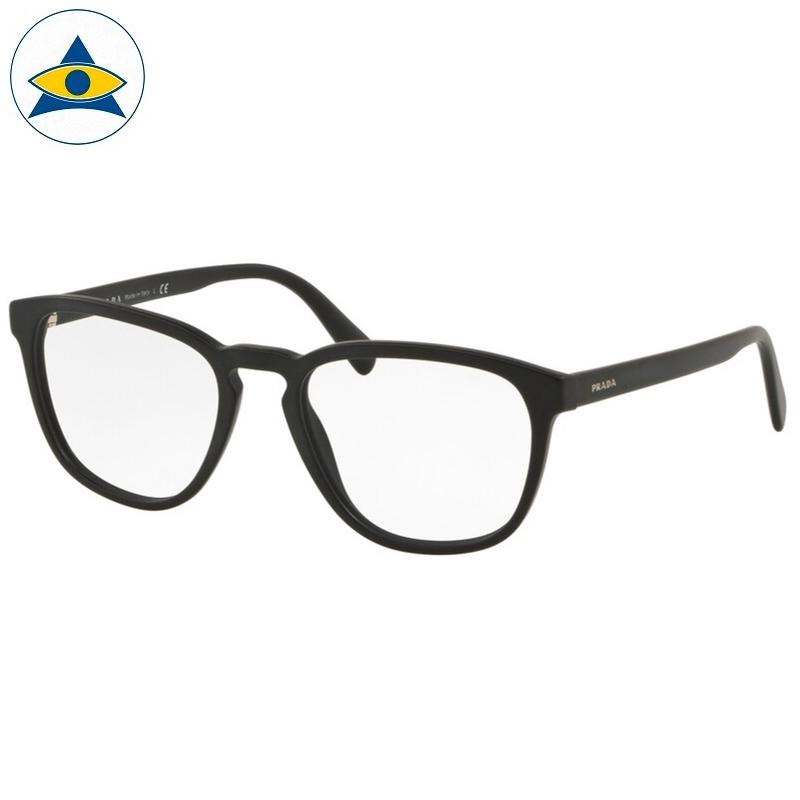 Prada Eyewear VPR 09VVF 1BO Matte Black s5418 338 Tampines Optical Admiralty Optical 1
