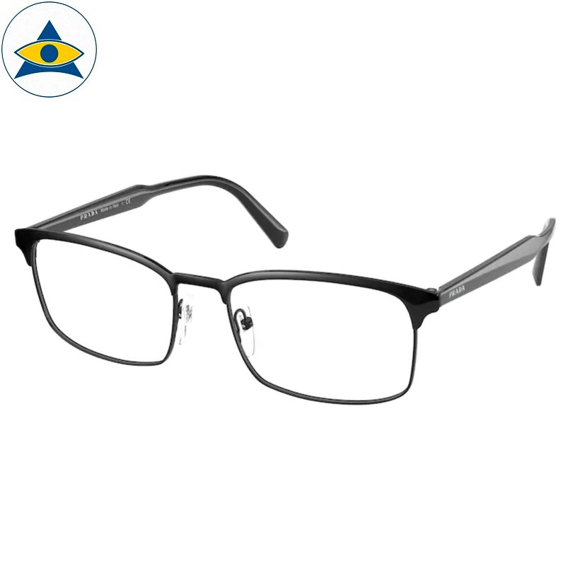 Prada Eyewear VPR 54W 1AB Black s5618 398 Tampines Optical Admiralty Optical 1