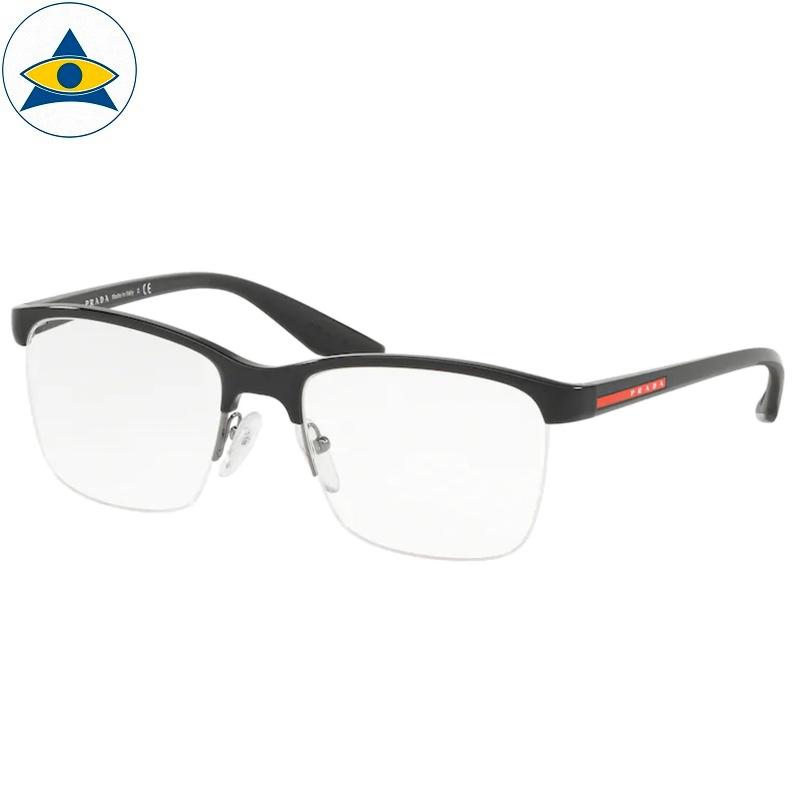Prada Eyewear VPR 54X 02L Matte Black s5419 398 Tampines Optical Admiralty Optical 1