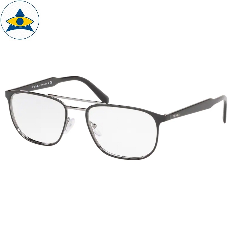 Prada Eyewear VPR 54X YDC Black-Gun s5418 398 Tampines Optical Admiralty Optical 1