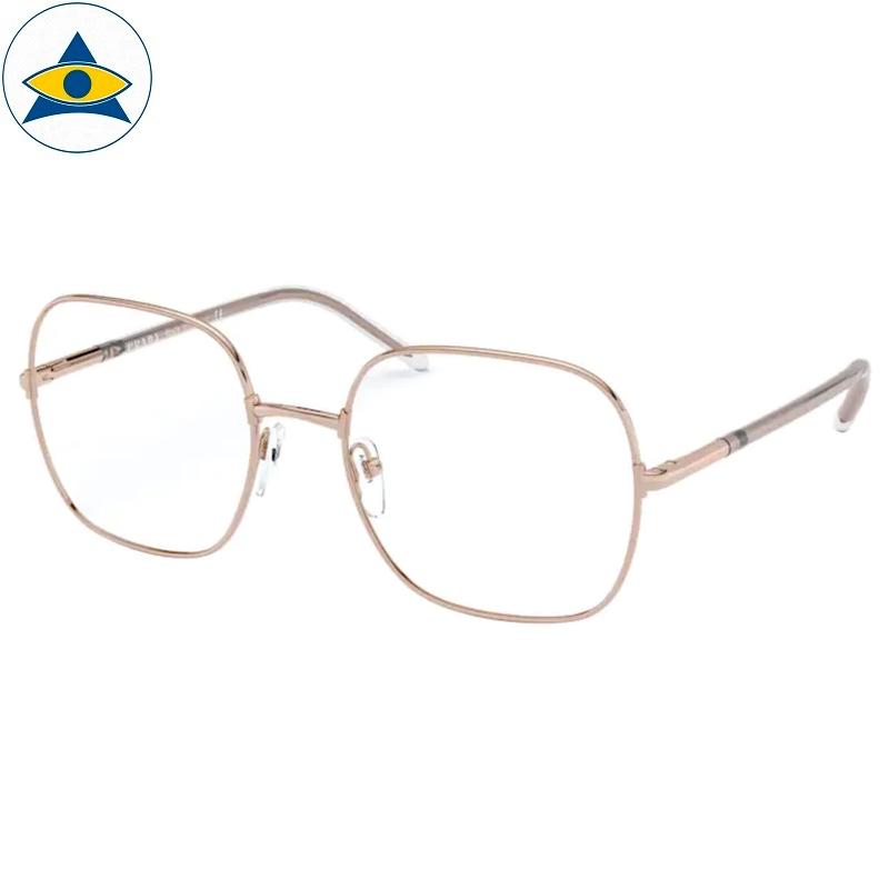 Prada Eyewear VPR 56W SVF Pink Gold s5419 388 Tampines Optical Admiralty Optical 1