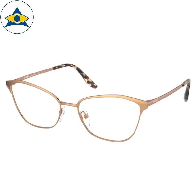 Prada Eyewear VPR 62X SVF Pink Gold s5417 398 Tampines Optical Admiralty Optical 1