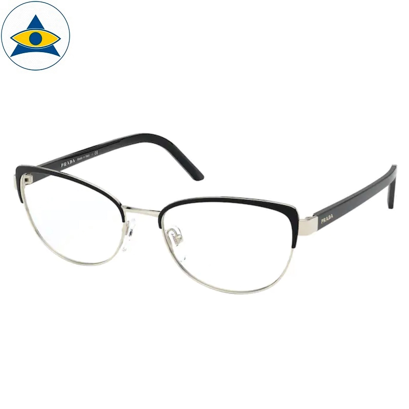 Prada Eyewear VPR 63X AAV Black- Pale Gold s5317 368 Tampines Optical Admiralty Optical 1