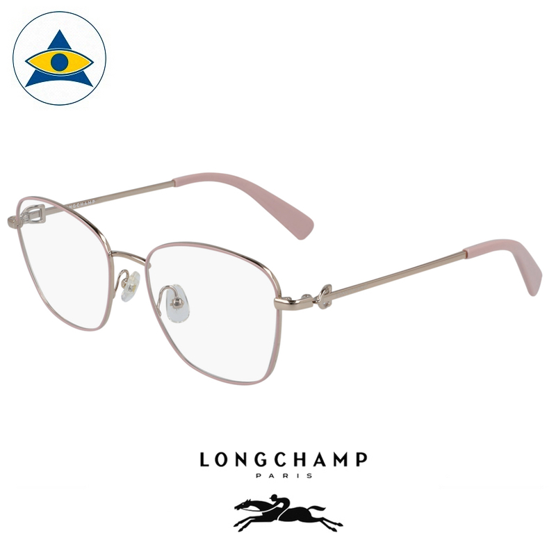 Long Champ 2133 773 Rose Gold Pink S5218 $258 1 eyewear optical spectacle glasses tampines admiralty optical