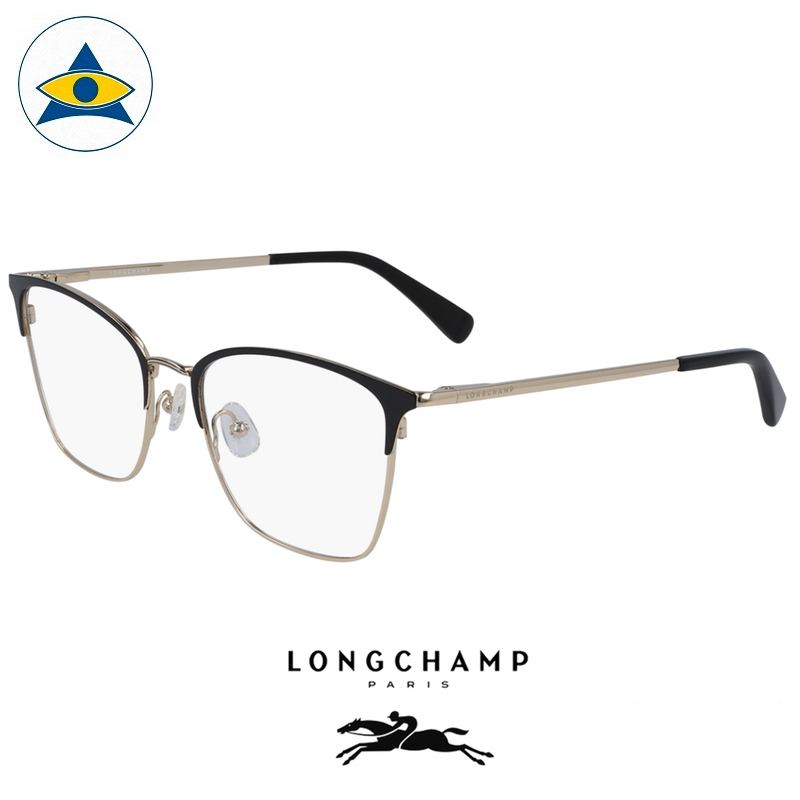 Long Champ 2135 720 Black Gold S5117 $258 1 eyewear optical spectacle glasses tampines admiralty optical