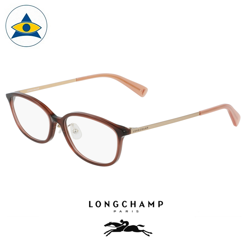 Long Champ 2651J 211 Espresso Gold S5215 $258 1 eyewear optical spectacle glasses tampines admiralty optical