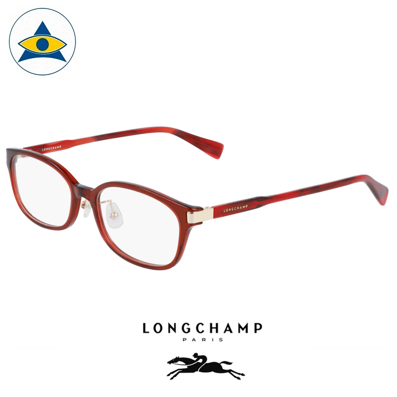 Long Champ 2652J 602 Wine S5217 $238 1 eyewear optical spectacle glasses tampines admiralty optical