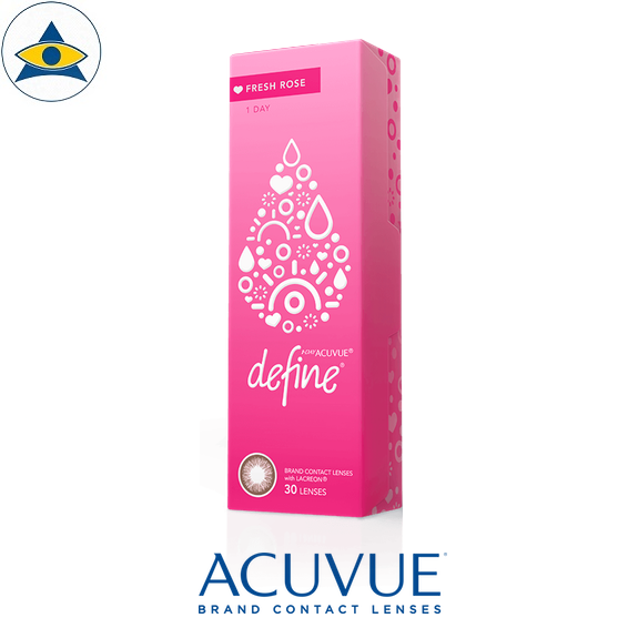 acuvue define fresh daily 2 cosmetic color contact lenses tampines admiralty optical 2
