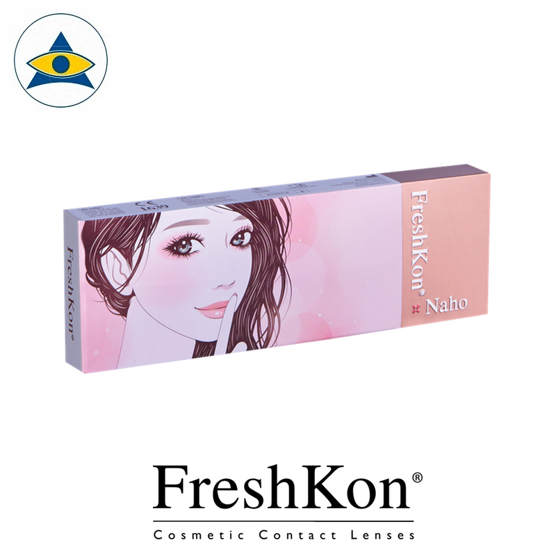 Freshkon Naho 1 Day Modern Chic Value box Cosmetic color lens tampines admiralty optical