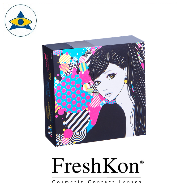 Freshkon Naho Monthly Glamour Glitz Value box Cosmetic color lens tampines admiralty optical