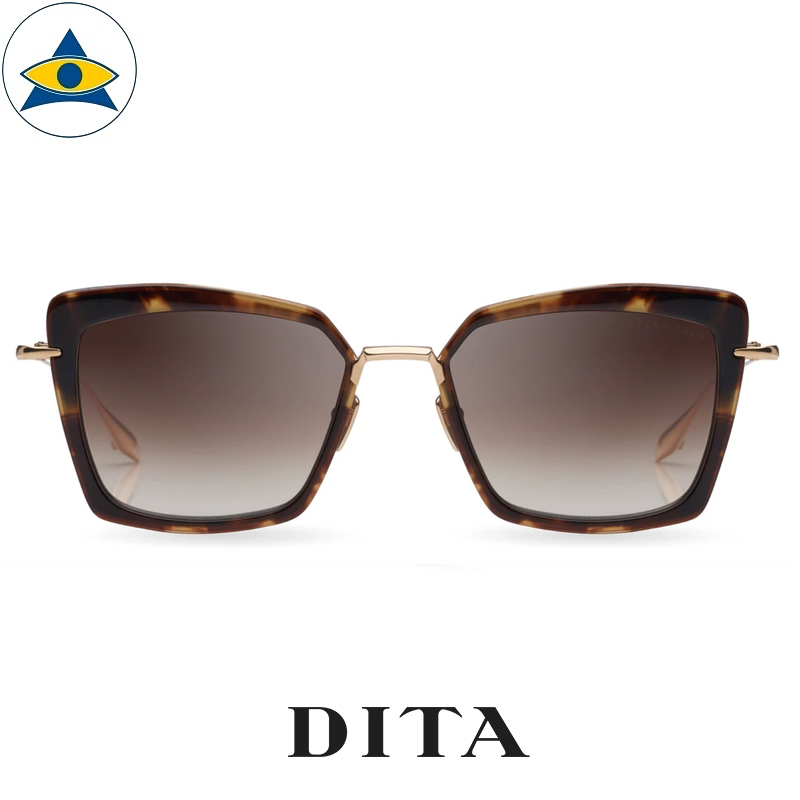 dita PERPLEXER DTS405-A-02 DARK BROWN TO CLEAR GRADIENT s $ 1 tampines admiralty optical